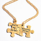 2PCs Grey's Classic Inspired Gold Plated Necklaces Qoute:You Are My Person Hot