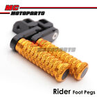 CNC 40mm Extension Adjustable Front Foot Pegs For Aprilia RSV 1000 R Factory