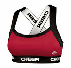 Chassé Performance C-Prime 2.0 Fitted Cheerleading Practice Sports Bra - - Youth