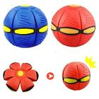 Deformable Magic Vent Ball Flying Saucer with Light Adults children UFO outdoor