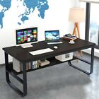 Wood Computer Desk PC Laptop Table Workstation Home Office Study Furniture