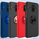 For Samsung Galaxy A6 (2018) Shockproof Ring Holder Stand Slim Armor Case Cover $10.37 USD on eBay