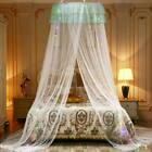 Hanging Bed Netting Curtain Canopy Girl Crib Princess Dome Lace Mosquito Net  image