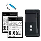 B500BE B500BU Battery & Charger for Samsung Galaxy S4mini S4 IV MINI I9192 I9198