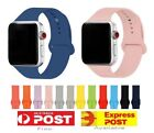 Silicone Replacement Strap Band For Apple Watch 6 5 4 3 2 Iwatch 38/40mm 42/44mm
