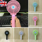 Mini Portable Fan Cooling Hand-held Small Folding Fan Cooler USB Rechargeable