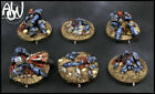 Warhammer 40k Custom Space Marine Objective Markers, painted