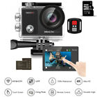 Dragon Touch Vision 3 Pro 4K/30fps Action Camera WIFI HD Waterproof 32G SD Card