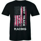 Dirt Track Racing Stand Up For American Flag Shirt Men's Premium T-shirt Gift