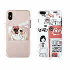 CocaCola Silicone Cartoon Cute Girl Case Cover For iPhone X XR XS Max 8 7 6 Plus $3.89  on eBay