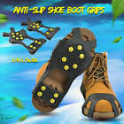 1 Pair Anti Slip Shoe Boot Grips Ice Cleats Spike Snow Gripper Non Slip Crampons