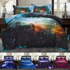 Twin/Full Galaxies Comforter Set All-season Down Quilted Duvet Reversible image