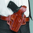 Galco Fletch High Ride Belt Holster Tan Colt 1911 (4 25 Barrel) Right Fl266