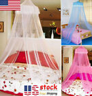 Princess Mosquito Net Lace Dome Bed Canopy Children Girls Prevent Fly Insect US image