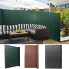PVC Privacy Fence Privacy Screen Wind Protection Garden Balcony Terrace Shield