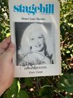 GINGER ROGERS signed autograph program FORTY CAROTS playbill