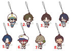 Anime The Prince of Tennis Rubber keychain Key Ring Race Straps cosplay