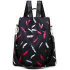 Women Anti-Theft Waterproof Rucksack School Backpack Travel Casual Shoulder Bags