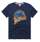 Golden State Warriors logo vtg retro 97 NBA basketball homage t-shirt men's navy on eBay