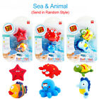 Baby Bath Toys Swimming Pool Water Spray Squeeze Toys Car Boat Sea Animal Toys