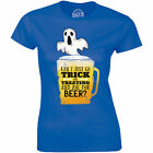 Can I Just Go Trick Or Treating And Ask For Beer - Boo Halloween Women's T-shirt