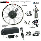 Ebike Conversion Motor Wheel Kit 48V 1500W Electric Bicycle E bike With Battery