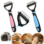 Dog Cat Groomer Pet Fur Knot Cutter Remover Grooming Metal Rake Brush Comb