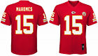 Patrick Mahomes Kansas City Chiefs #15 NFL Home Red Boys Jersey Outerstuff Youth on eBay