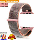 Genuine OEM Woven Nylon Sport Loop Band Strap For Apple Watch Series 4 40mm 44mm image