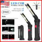 Kyпить Rechargeable COB LED Slim Work Light Lamp Flashlight Magnetic Foldable Inspect на еВаy.соm