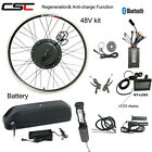Ebike Conversion Motor Wheel Kit 48V 1000W Electric Bicycle Engine With Battery