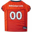 Denver Broncos NFL Football Officially Licensed Pet Polyester Dog Jersey $14.9 USD on eBay