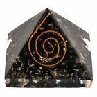 Authentic EXTRA LARGE Black Tourmaline Orgone Crystal Pyramid X-Large US SELLER