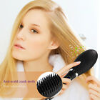 10s Heating Electric Brush Straightener Straight Hair Comb LED Disply Control