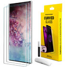For Samsung Galaxy Note 10 Plus UV Light Temperd Glass Unlock Screen Protector