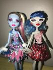 Monster High Dolls Ghoulia And Abbey Bominable Dot Dead Gorgeous