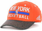Adidas New York Knicks Hat Flex Fitted Ball Cap NBA Team S/M Orange Climalite on eBay