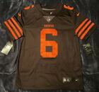 Baker Mayfield Cleveland Browns Color Rush Limited Authentic Jersey 2019 M,L,XL on eBay