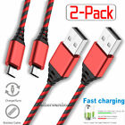 2-Pack 3FT 6FT 10FT Micro USB Charger Cable Phone Charging Data Sync Cord For LG
