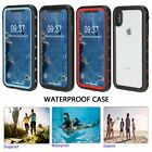 For i Phone XS MAX Shockproof Waterproof Case Cover Built-in Screen Protector