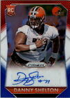 2015 Panini Prizm Rookie Autographs Prizms Red White and Blue Danny Shelton Auto