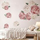 Large Peony Flower Wall Art Sticker Home Backgruond Living Room Decal Decor Us