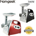 Stainless Steel Electric Meat Grinder Mincer Sausage Machine 300W Portable W4B0