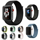 Nylon Woven Bracelet Strap Sport Loop Watch Band For Apple iWatch series 4 3 2 1