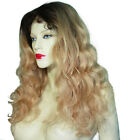Full Lace Wig Wigs Human Indian Remy Remi Body Wave Wavy Multi Color T-Color