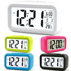 Battery Operated LCD Display Digital Electronic Alarm Clock Snooze Children Gift