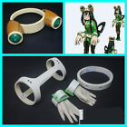 My Hero Academia Asui Tsuyu Cosplay Glasses Headwear Gloves Belt Cosplay Props