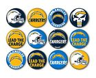 Los Angeles Chargers Button Badge Pin Back Pinback Magnet  Flatback LA Chargers $10.99 USD on eBay