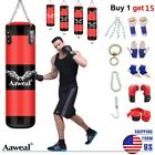 Kyпить Heavy Boxing Punching Bag Training Gloves Speed Set Kicking MMA Workout Empty US на еВаy.соm
