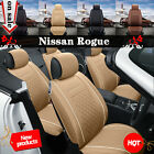 5 Seat Car Chair Cushion Seat Cover For 2013-2016 Nissan Rogue PU on eBay